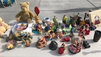 Assorted plastic toy collection