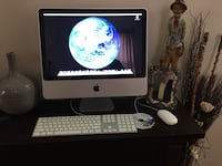 silver iMac with Apple Magic Keyboard and Magic Mouse Larchmont, 10538