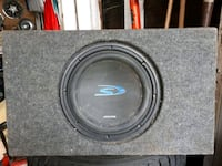 "10"" Alpine sub with box St. Catharines, L2M"