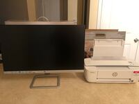 White hp flat screen computer monitor-NOT Negotiable College Park, 20740