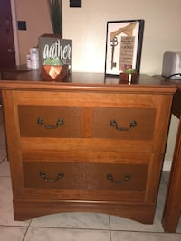 brown wooden 2-drawer chest Orlando, 32807
