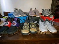 6 pairs of mens sneakers  Moncton, E1E 2R9