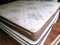 Queen mattress regular pillow top delivery 30 Edmonton, T5H 3K7