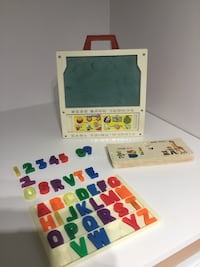 1972 Vintage Fisher Price School Desk Calgary, T2J 5Z1