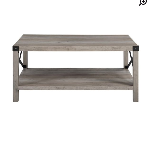 New in box Coffee table with black accents 83268441-af37-463f-84a5-58155d68a6c9