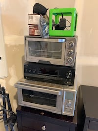 2 Toaster Ovens and 5.1 Receiver for sale. Aldie, 20105