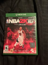 NBA 2K 16 for Xbox One