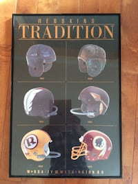 Washington redskins helmets poster  Derwood, 20855