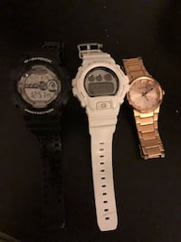 Three round silver-colored analog watches Rockville, 20850