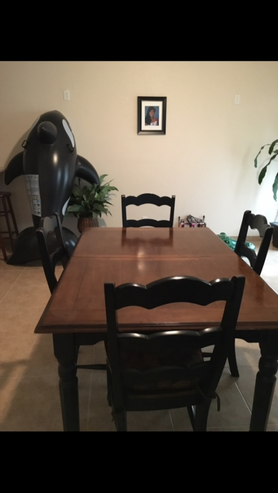 brown and black wooden rectangular dining table set in Las  : ca450010e8d4dd2d58daafe4e09d94f7 from us.letgo.com size 900 x 1597 jpeg 92kB