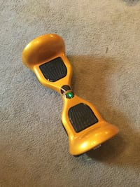 Gold Bluetooth Hoverboard 10 inch off-road tires