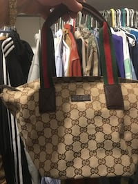 women's brown Gucci leather tote bag Portland, 78374