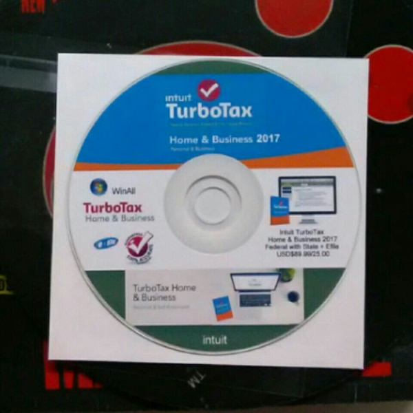 2017 Turbotax Home And Business Cd   Flisol Home