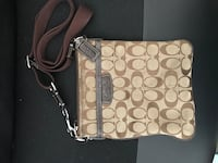 Coach monogram shoulder bag  Toronto, M4B 3K5