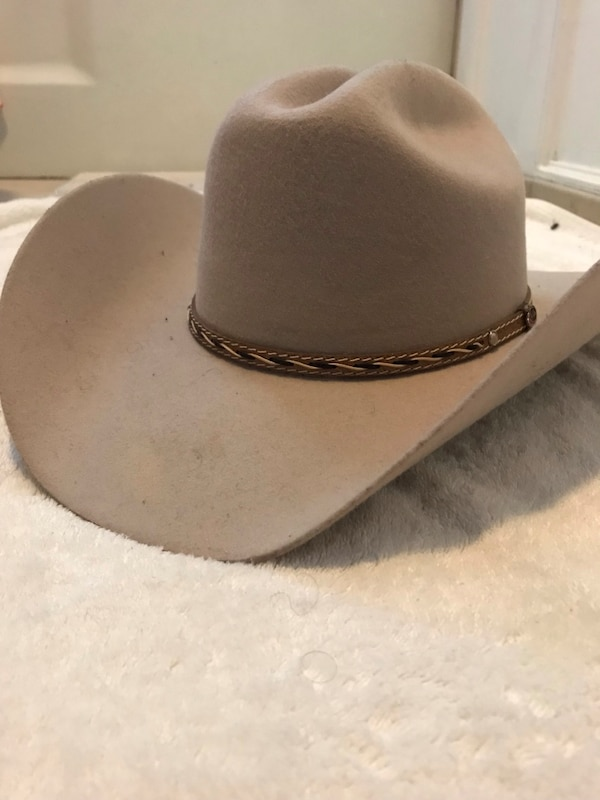 f6409b47249fe Used Justin Boots 100% WOOL felt cowboy hat. for sale in Waukegan ...