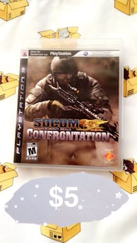 SOCOM US NAVY SEALS PS3 Vaughan, L4J 8E8