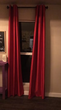 red blackout curtains Odessa, 79764