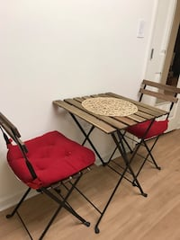 Table with two chairs (can be outdoor ) Glen Cove, 11542