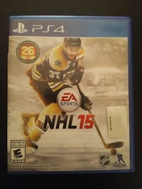 Sony PS4 NHL 15 game
