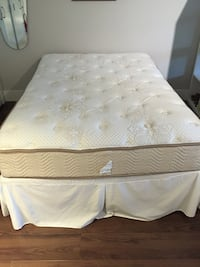 Double size mattress, box spring and frame Vancouver, V6R
