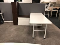 Steelcase Executive Suite with Storage Tower - 6' x 6' Markham