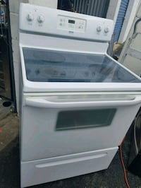 white and black induction range oven Suitland-Silver Hill, 20746