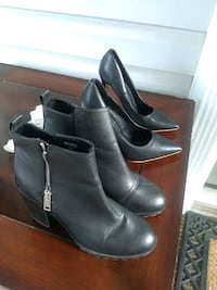 Black heels and boots size 8 Alexandria, 22315