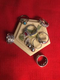Sterling Silver 925 beautiful Rings   Each priced $25  Select the rings you love / Size #5 Alexandria, 22311