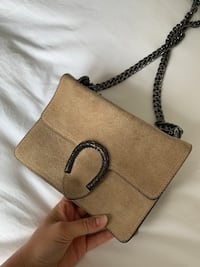 Suede purse from Spain Vaughan