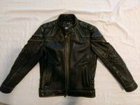 Affliction leather jacket. Yukon