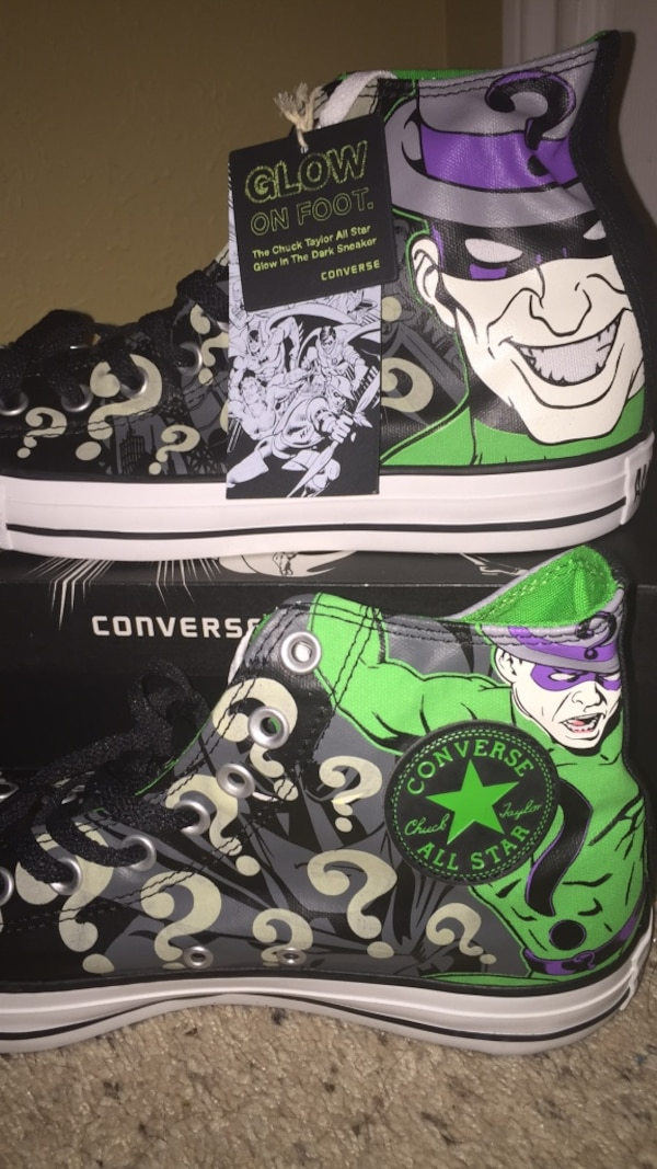cc3cbaa87876 Used Riddler converse for sale in College Station - letgo