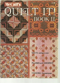 1974 - Quilt It Book 2 in good condition - a few loose pages Pick-up in Newmarket