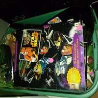 Star wars stuff most new in package still  Madisonville, 42431