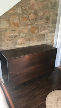 brown wooden 2-drawer nightstand The Plains, 20198