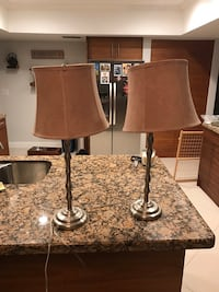 Pair of table lamps 908 mi