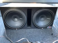 Two 12 in P2 subwoofers  South Elgin, 60177