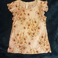 Floral Blouse H&M Small Columbia