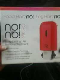 Brand new no no hair removal tool Langley Township, V4W 3X2
