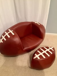 Used Kids Leather Football Chair For Sale In Leawood Letgo