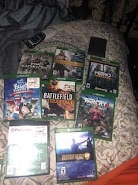 assorted Xbox 360 game cases Porterville, 93257