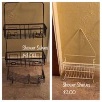 3 Shower Caddies Greenville, 75402