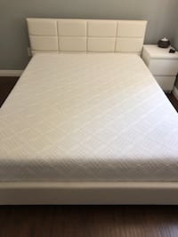 Full size bed frame and mattress Chino