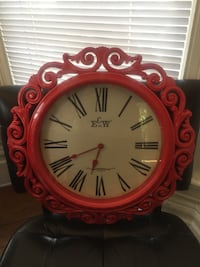 Large Red Wall Clock Fremont, 94536