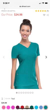 Scrubs multiple colors and styles , 90025