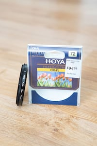 HOYA CIR-PL Camera Lens Filter 72mm Toronto, M3H 5P7