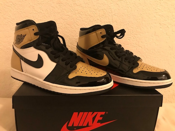 "27f589fba80500 Used Jordan 1 s ""Gold Toe"