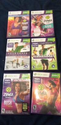 Console Game used Xbox 360 kinect Ogden, 84404