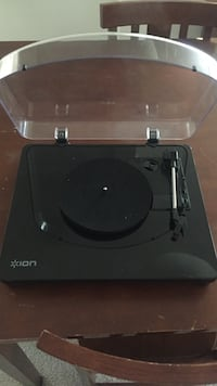 black Ion turntable player Manassas, 20109