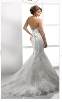 Maggie Sottero Mermaid Beaded Lace Gown Toronto, M9C 1A8
