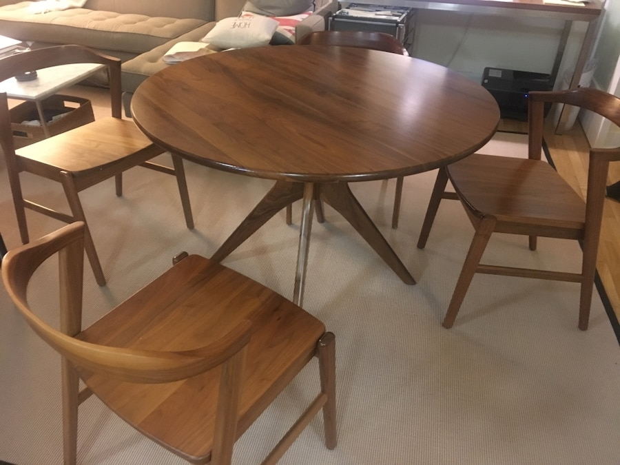 Superieur Room And Board Bradshaw Dining Table And Chairs